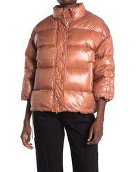 RED Valentino Down Puffer Jacket - Orange