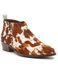 Matisse - Orline Genuine Calf Hair Bootie - Lyst
