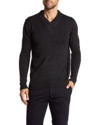 Autumn Cashmere - Surplice Neck Sweater - Lyst