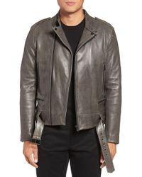 Lamarque - Leather Moto Jacket - Lyst