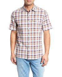 Tommy Bahama - Ocean Cay Plaid Sport Shirt - Lyst