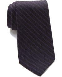 Calvin Klein - Cloud Stripe Tie - Lyst