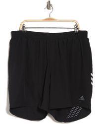 adidas Run It 3-stripes Shorts - Black