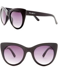 William Rast - 49mm Cat Eye Sunglasses - Lyst