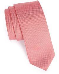 1901 - Woven Silk & Cotton Tie - Lyst