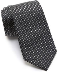 Kenneth Cole Reaction - Crystal Neat Silk Tie - Lyst