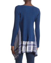 Cecilie Copenhagen Diana Long Sleeve Knit - Blue