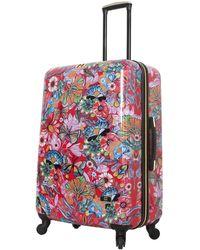 Halina Car Pintos Intenso Hard Shell Luggage - Multicolour