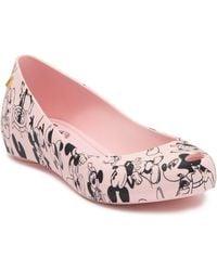 Melissa Ultragirl Mickey Mouse(r) Flat - Pink