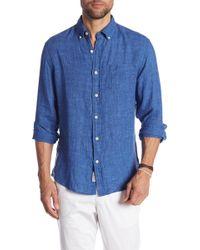 Grayers - Paloma Sun Washed Linen Modern Fit Shirt - Lyst