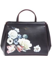 Tosca Blu Satchel Bag - Black