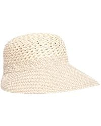 Eric Javits Trophy Gal Straw Sun Hat - Multicolour