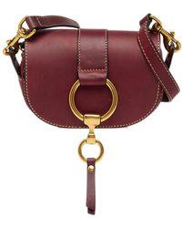 Frye - Ilana Mini Harness Leather Saddle Bag - Lyst