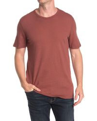 AG Jeans Ramsey Crew Neck T-shirt - Red