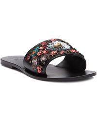 Lfl - Linah Leather Slide Sandal (women) - Lyst