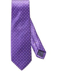 Eton of Sweden - Medallion Silk Tie - Lyst