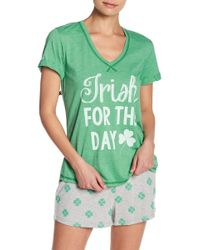 Pj Salvage - Lucky Me T-shirt - Lyst
