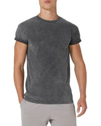 Topman | Acid Wash Classic Fit T-shirt | Lyst