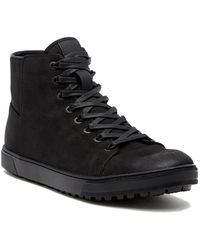 Kenneth Cole Reaction | Design Waterproof Hi-top Trainer | Lyst