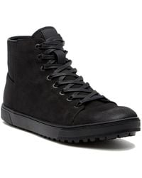 Kenneth Cole Reaction - Design Waterproof Hi-top Trainer - Lyst