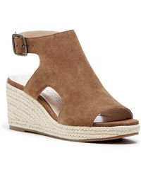 Sole Society Camreigh Cutout Wedge - Brown