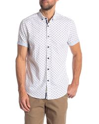 Heritage - Fish Print Slim Fit Shirt - Lyst