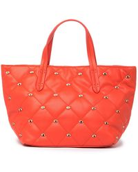 Deux Lux Jinx Quilted Tote Bag - Red