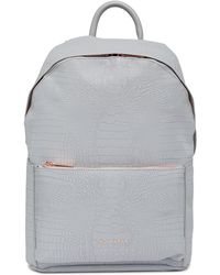 Ted Baker - Rahri Reflective Croc Backpack - Lyst