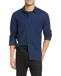 Vince - Two-pocket Denim Shirt - Lyst