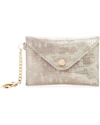 Aimee Kestenberg - Ashley Leather Pouch With Keychain - Lyst