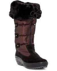 Pajar - Mia Faux Fur Trimmed Boot - Lyst