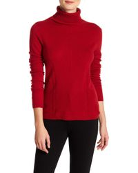In Cashmere - Turtleneck Cashmere Sweater - Lyst