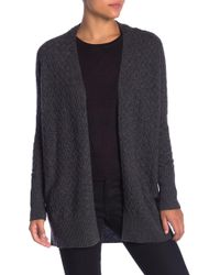 Kinross Cashmere - Cashmere Allover Twist Cable Cardigan - Lyst