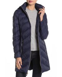 1a98ae709 Long Down Parka Jacket - Blue