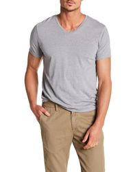Save Khaki - Short Sleeve V-neck Tee - Lyst