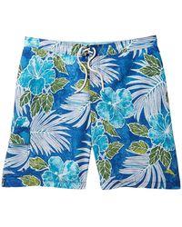 7c3a61f9f314a Tommy Bahama - Baja Hibiscus Cove Board Shorts (big & Tall) - Lyst