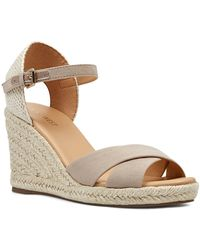 33db625858e Lyst - Nine West Jorjapeach Espadrille Wedge Sandal (women) in Brown