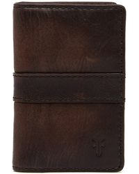 Frye | Oliver Leather Billfold Wallet | Lyst