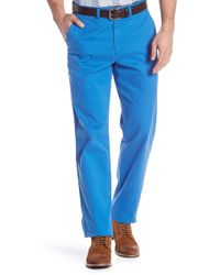 Brooks Brothers - Solid Stretch Fit Pants - Lyst