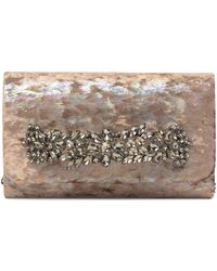 Sondra Roberts - Jeweled Bar Clutch - Lyst