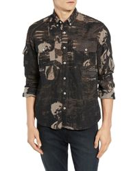 Billy Reid - Charles Patterned Fishing Shirt - Lyst
