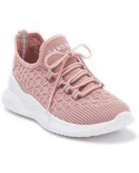 Danskin Scalloped Knit Sneaker - Pink