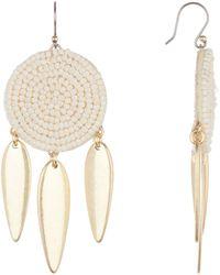 Lucky Brand - Seed Bead Earrings - Lyst