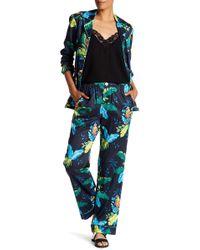 Marc Jacobs Parrot 2-piece Pajama Set - Black