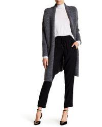 Etienne Marcel Oversized Sweater Cardigan - Gray