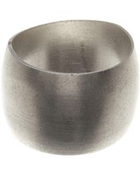 Dogeared - Sterling Silver Cigar Band Ring - Size 5 - Lyst