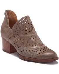 Söfft - Wyoming Perforated Bootie - Lyst