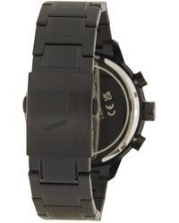 Armani Exchange Men's Round Chronograph Bracelet Watch - Black