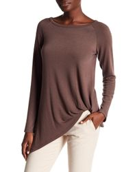 Karen Kane - Asymmetric Pick Up Jumper - Lyst