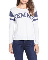 Pam & Gela - Shrunken Football Shirt - Lyst